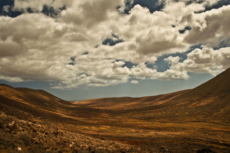 Adventure Calm Clouds And Sky Descovery Desert Fuerteventura Landscapes Quiet Quiet Places Perspectives On Nature