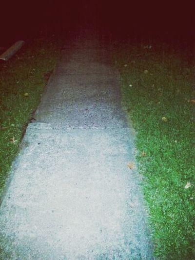Walking home, missing my honey <3 Outside Landscape
