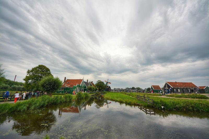 Amsterdam Amsterdamthroughmycamera Zaanse Schans Zaanseschans Zaanse_schans Zaanse Schans Postcards Windmill Windmills Windmills Near Water Windmill Of The Day