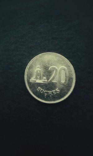Vintage Coin 20 Twenty Sucres Old Coins Coincollection Copyright©