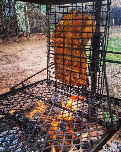 Staanrib Ribs Skaap Lamb Braai Afrikaans Fire Chilled