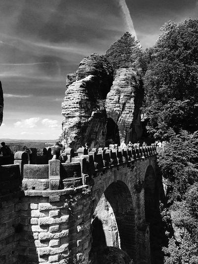 Blick auf die Bastei, Elbsandsteingebirge First Eyeem Photo