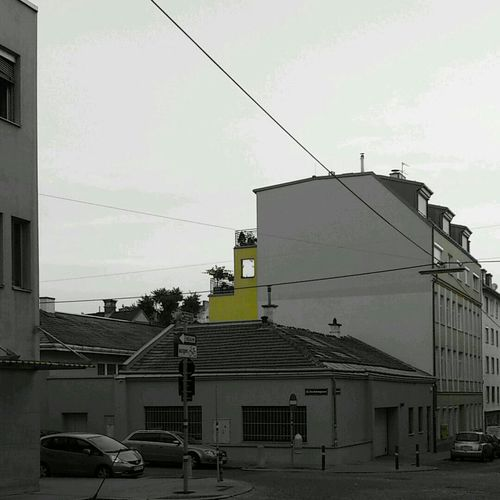 Häuser Street Juni 2014 Yellow