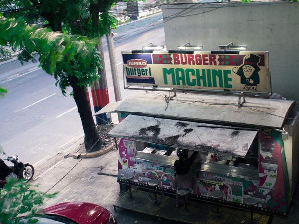 Side stop munch Day Outdoors Pitstop Burger Streetfood in Taft Taftavenue, Manila Olympus EyeEmNewHere OLYMPUS PEN E-P3 Neighborhood Map