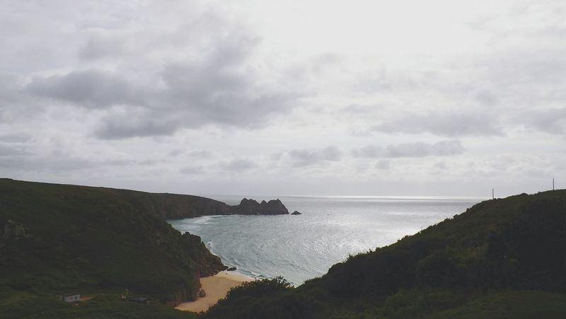 Ocean View Sea View Porthcurno Landscape_photography Amazing View Cornwall Seashore Porthleven Sea And Sky Eye Em Nature Lover