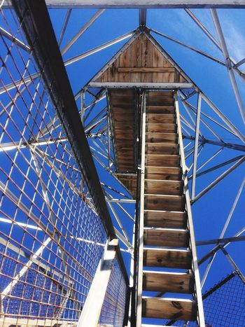 Tower. Architecture Built Structure Low Angle View Sky Day No People Outdoors Connection Skyscraper Bridge - Man Made Structure Maine Firetower Tower Hikingadventures Outdoor Photography Exploring Adventure EyeEmNewHere EyeEmNewHere