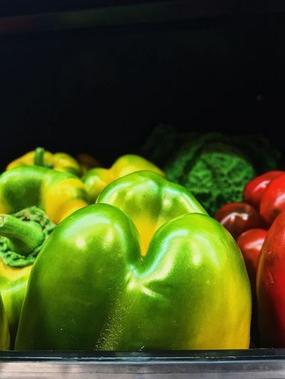 Shop Italy Sicily EyeEmBestPics Green Color Close-up Indoors  Food And Drink Still Life Food Vegetable No People Healthy Eating Freshness Multi Colored Bell Pepper