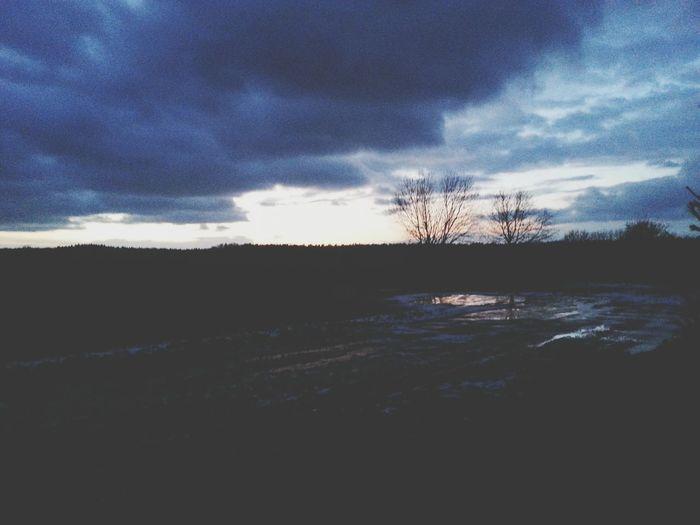 Himmmel Wolken