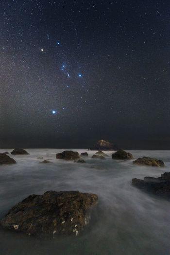 星景 天の川 Milkyway Long Exposure 長時間露光 Astrophotography Orion Sírius Nightphotography Stars
