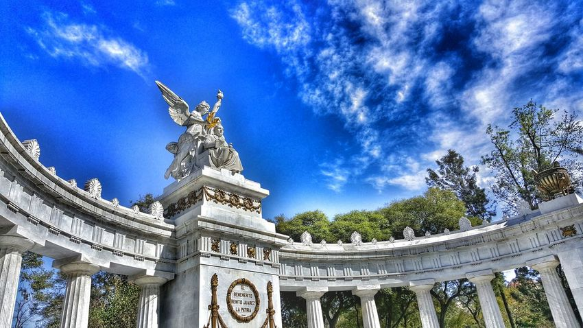Al Benemérito de las Américas. Monumentos  Hemiciclo A Juárez Alameda Central