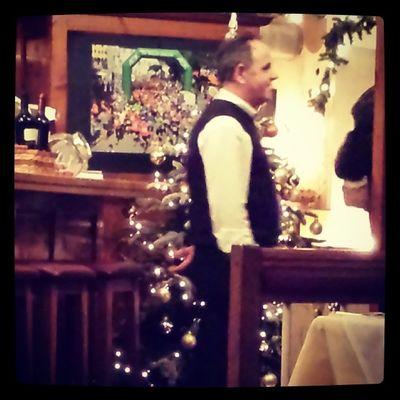Im lieblingsrestaurant Ichgradso Heiligdreikoenig Winter2014