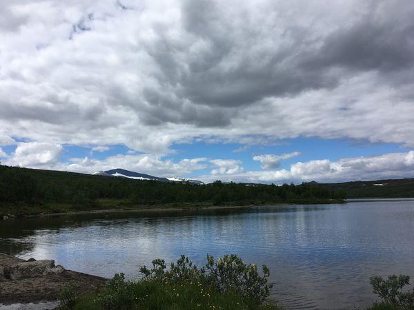Kesudalen Cloud - Sky Tranquility Nature Lake Mountain