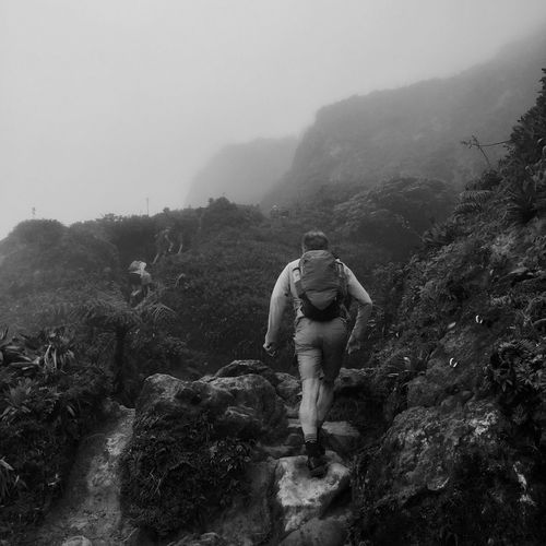 Climbing La Soufrière, Guadeloupe IPhoneography Real People Mountain Nature Beauty In Nature Scenics - Nature