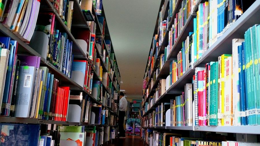 Maktab Duli's Library Studying College Life Learning