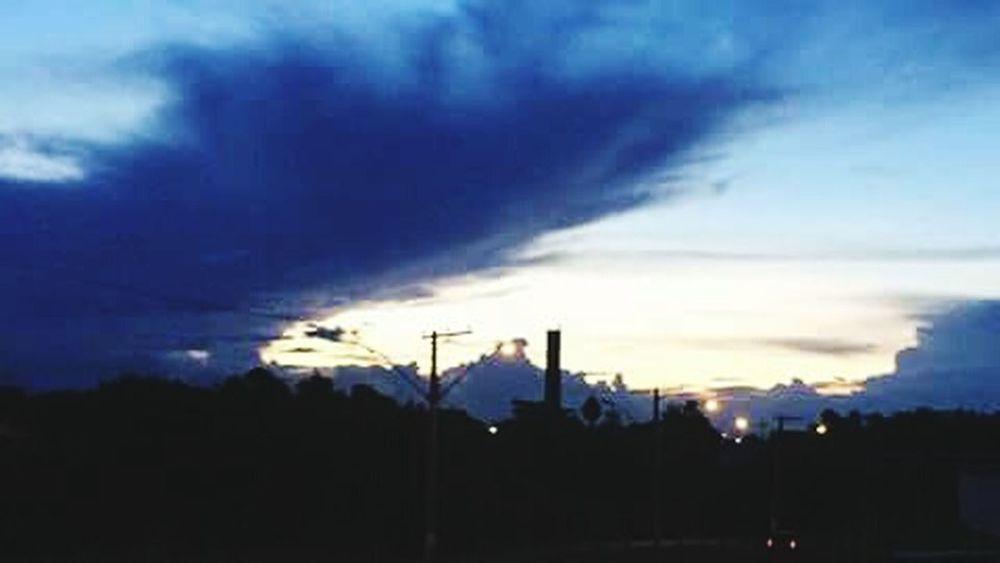 Final de tarde em Taubaté