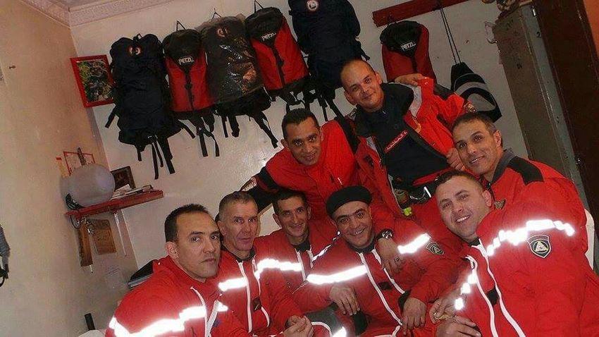 Hi! Hello World Friends ❤ Selfie With Friends Sapeurspompiers Firefighter Enjoying Life