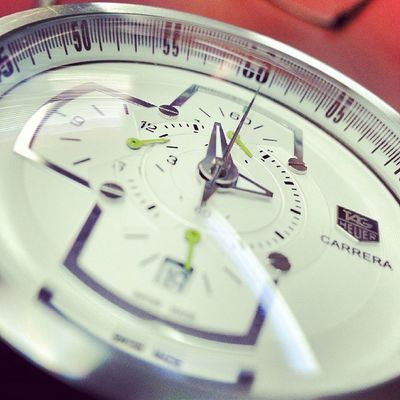 And its my 100th instagram pic.. Tagheuer Tag Instawatch Watch