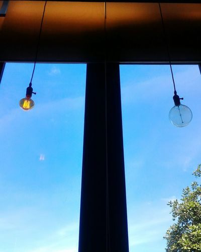 Hanging Low Angle View Mid-air Sky Celebration No People Day Indoors  An Eye For Travel