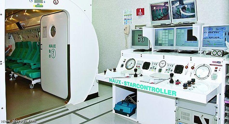 قسم طب الاعماق والعلاج بالاوكسجين0133640900\1532 الجبيل Al Jubail HPO Hyperbaric Medicine الجبيل العلاج بالاوكسجين الغرغرينه علاج التوحد علاج الكساح علاج ضمور المخ