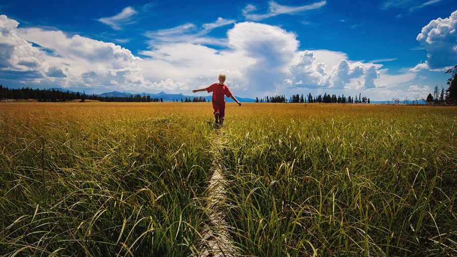 Summer Adventure Clouds Adventure Exploring Mountains Outdoors Yellowstone Wyoming Life Balance Challenge Travel Photography Travel