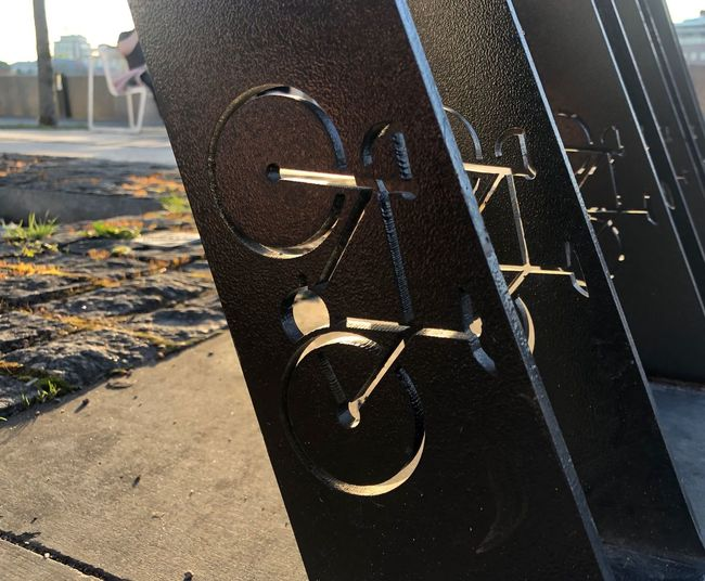 City Life Moscow Muzeon Parking Lot Bike Built Structure Bycicle City Close-up Cycling Iron - Metal Metal Muzeonpark No People Security Still Life Sunlight Transportation Wheel Transportation Outdoors City Sunlight Summer Road Tripping