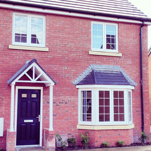The perfect House Building Exterior House Bay Window Portch Semi Detached Red Brick