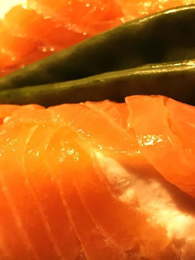 Food Healthy Eating Orange Color Freshness Close-up No People Ready-to-eat Smoked Salmon  Goat Cheese Sugar Bean
