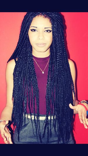 so i am thinking about getting a new hairstyle because i have had the same thing for like 5 years. what about this? I Miss My Braids  Braids New Look?
