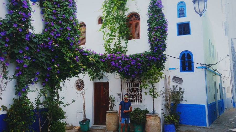 EyeEm Selects Asila Morocco Trip Travel City Building Exterior Plant Traditional Building Flower First Eyeem Photo