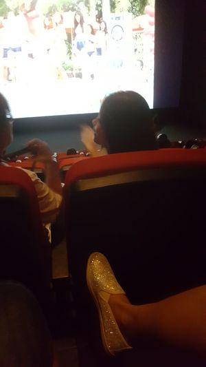 Bling sneaker at the movies Indoors  Vietnam Đà Nẵng Footwear Sneakers Bling Cinema