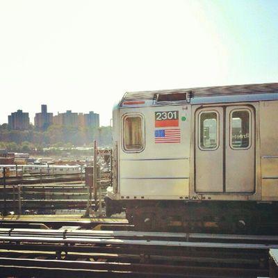 Train Going Washingtonheights Instagramuptown Inwood Mta uptown newyorkcity newyork nyc train