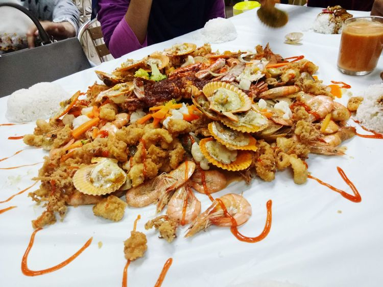 food shell out.. seafood EyeEm Selects Plate Table High Angle View Close-up Food And Drink