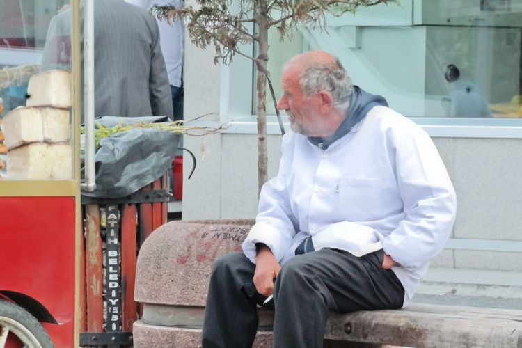 Istanbul Turkey Man Eminönü/ İstanbul