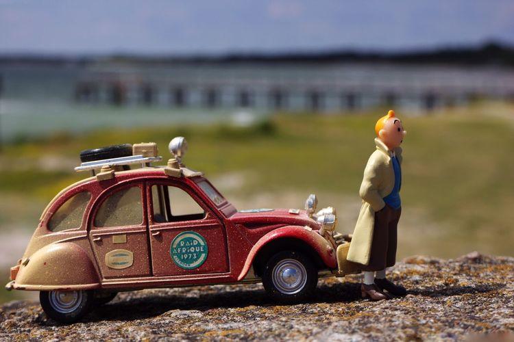 Tintin Herge Citroen 2cv Citroen 2cv Citroen Car Traveling Travel Traveler Adventure Model Miniature Georges Remi Cartoonist Belgian  Comic Comics The Traveler - 2018 EyeEm Awards