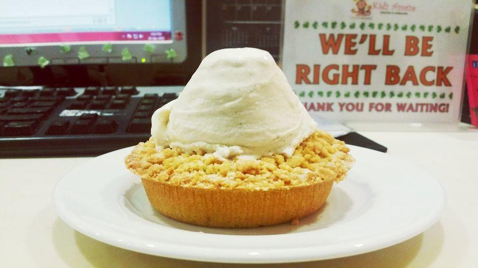 Apple Crumble Vanilla Bean Tea Time Brb Foodphotography