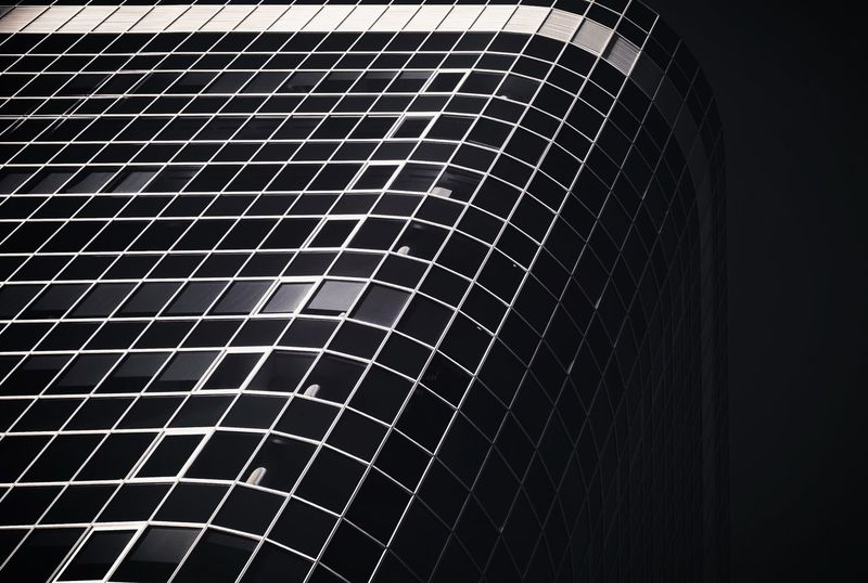 - THE GRID - Check This Out Modern Architecture Building City Architecture Minimal MnMl Minimalism Urban Architecture Pattern No People Close-up Low Angle View Indoors  Metal Architecture Built Structure Design Grid Backgrounds Repetition Full Frame Complexity