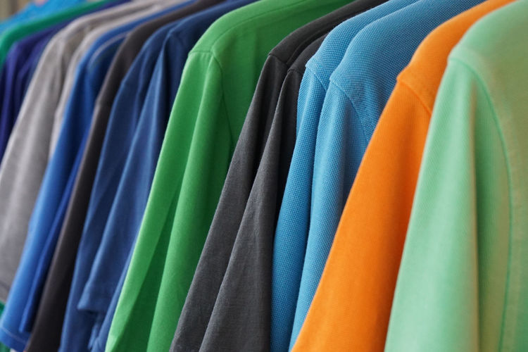 Close-up Clothes Clothing Colorful Fashion Multi Colored No People Polo Selective Focus Shirt