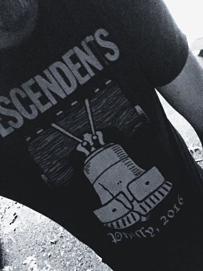 Because I love Descendents and because I love the great city of Philadelphia which I have once called my home. It's the birthplace of American democracy (even tho it looks like a mess right now.. just wait) and this shirt totally kicks ass. ;) Taking Photos Punkrock Descendents Music Chilling That's Me