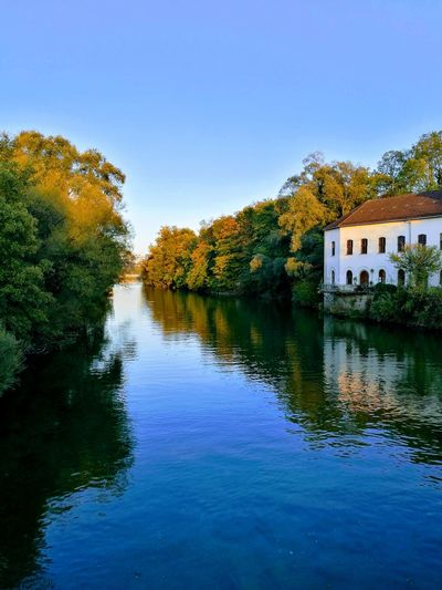 Steyr Eye4photography  EyeEmNewHere EyeEm Best Shots House On River House On Water Beautiful Nature Tree Water Lake Reflection Sky Calm