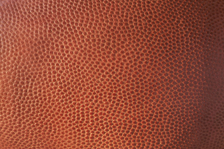 Full Frame Shot Of Football Leather