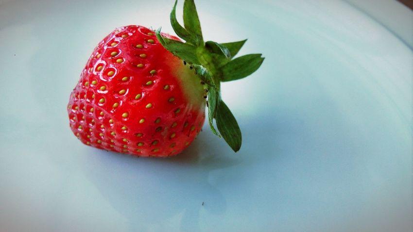 Red Fruit Freshness Food Erdbeere Erdbeer Erdbeer ♥ Food And Drink Sweet Food Sweet Love Fruits Lovefruit