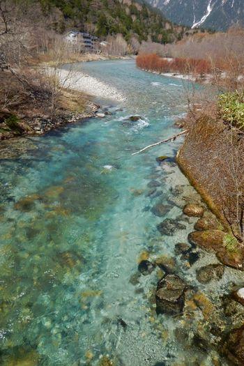 梓川 River Clear Water Emeraldgreen Beauty In Nature Outdoors Mountain No People EyeEm Best Shots - Nature EyeEm Nature Lover The Purist (no Edit, No Filter) From My Point Of View