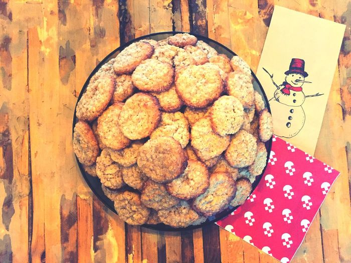 Baking Cookies Baking Snowman Swedish Food Cookies Christmastime Food And Drink Freshness Table Food Directly Above Indulgence Sweet Food Cookie Indoors  Wood - Material Temptation Ready-to-eat Close-up No People Plate Homemade Healthy Eating