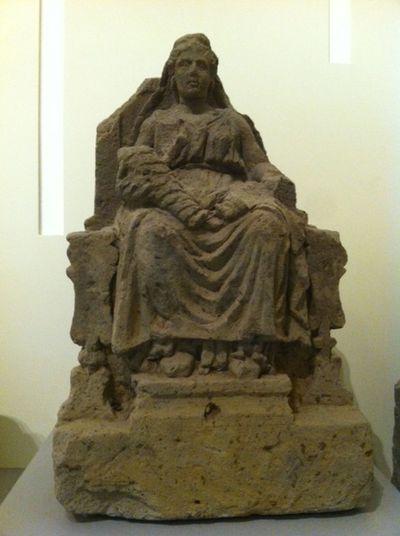 Le Matres di Capua conservate al Museo campano Ancient Capua Archeology Beauty Capua History Italy Mothers Roman Age Sculpture