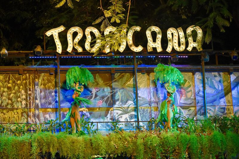 A beautiful night at the original Tropicana! Outdoors Green Color Built Structure Nature Nightclub Tropicana Tropicana Cuba Tropicanaclub Dancers Performers Headdress Show Havana, Cuba Havana Connected By Travel