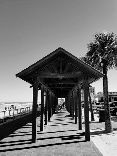 Beach Wood - Material Sea Pier Outdoors Sky Built Structure Architecture Sand Day Blue Horizon Over Water Vacations Nature Clear Sky Travel Destinations Water No People Tree Florida Beauty In Nature Florida Sunset Florida Nature Newsmyrnabeach The Week On EyeEm