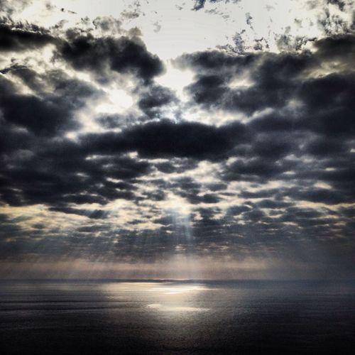 Sky Fisterra Clouds Galicia