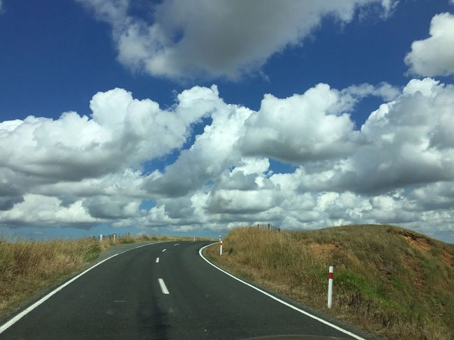 Road Cloud - Sky Sky Transportation The Way Forward Scenics Tranquil Scene Landscape Beauty In Nature Tranquility Outdoors