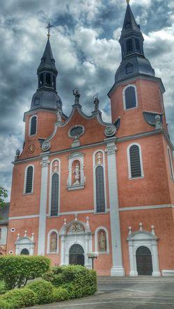 Eifel Germany Summertime Eye4photography  GERMANY🇩🇪DEUTSCHERLAND@ Skyblue From My Point Of View Kirche Kirchturm Church Church Tower Church Architecture