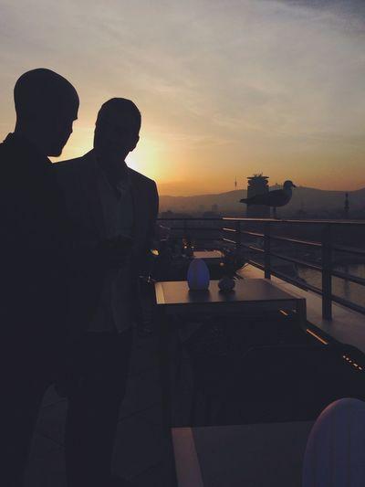 'Tres sombras'. EyeEm Best Shots Youmobile Capture The Moment Sunset